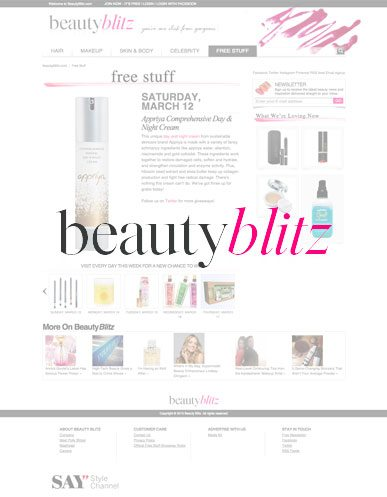 Appriya is featured in Beauty Blitz!