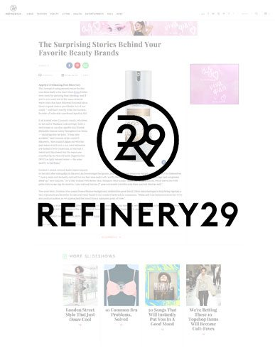 Appriya is featured in Refinery 29!