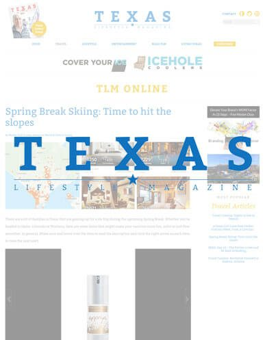 Appriya is featured in Texas Lifestyle Magazine!